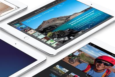 Apple launches flatter, thinner, golden iPad Air 2