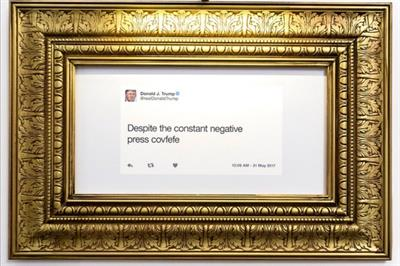 The inside story on The Daily Show's Trump Twitter Library