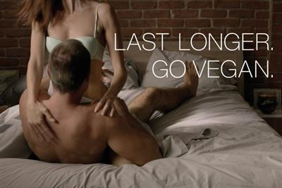 PETA pounds on sexual endurance in Super Bowl ad stunt