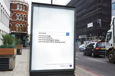 """Babylon """"Don't ask the internet. Ask a real doctor"""" by Ogilvy & Mather London"""