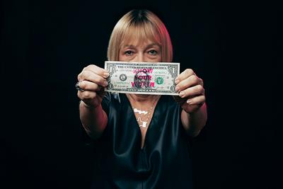 A Cindy Gallop chatbot will help you ask for a raise on Equal Pay Day