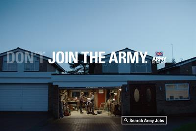 "British Army ""a better you"" by Karmarama"
