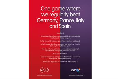 "BT and Virgin Media ""Digital future"" by Abbott Mead Vickers BBDO"