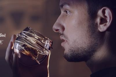"Ballantine's ""space glass"" by Havas Work Club"