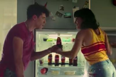 """Coca-Cola """"Pool boy"""" by Santo"""