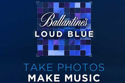 "Ballantine's ""Loud Blue"" by Work Club"