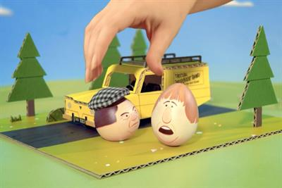 "UKTV Gold ""Easter egg hunt"" by Feed Me Light"