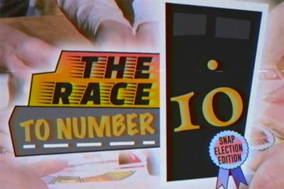 "Green Party ""The race to number ten"" by Creature of London"