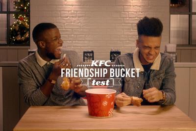 "KFC ""the friendship bucket test"" by Bartle Bogle Hegarty"