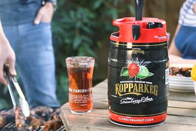 "Kopparberg ""Fånga Dagen"" by Goodstuff Communications"