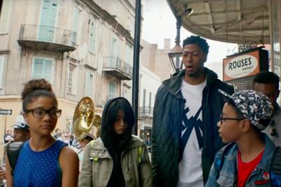NBA stars are oddly tolerant of judgmental kids in Nike film