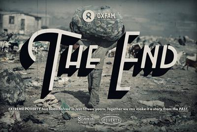 "Oxfam ""The end"" by Y&R London"