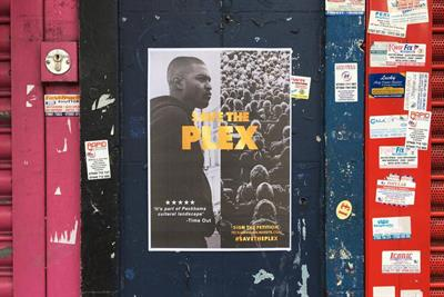 "PeckhamPlex ""Save the Plex"" by Abbott Mead Vickers BBDO"