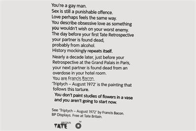 """Tate Britain """"500 years of stories"""" by Grey London"""