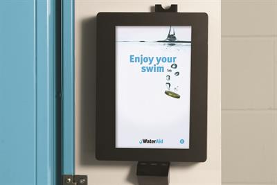 "WaterAid ""hope locker"" by Proximity London"