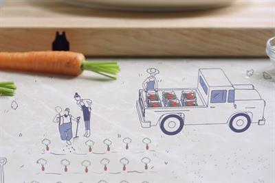 Blue Apron aims for the farmer's market crowd with Droga5