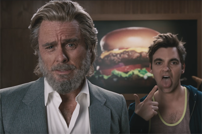 Carl's Jr. cleans up its act, but only because the old man insists