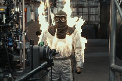 GE ignites a stuntman to prove you can fight fire with fire
