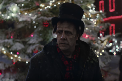 Apple helps a monster carry a melody in holiday spot