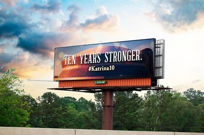 OOH advertising company remembers Katrina