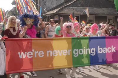 """New Orleans says it's """"never going back"""" in the closet with Mardi Gras parade"""