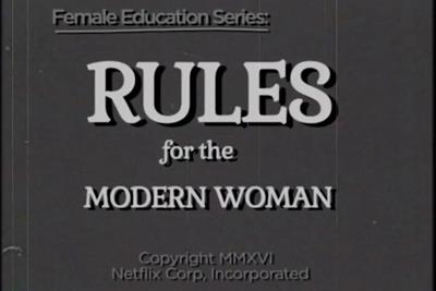 Joan's first work crafts 'rules for the modern woman' for Netflix