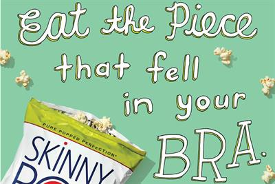 SkinnyPop brand campaign has fans breaking all the rules