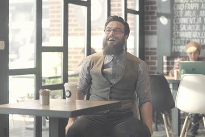 Iced coffee ads show hipster plague has struck Turkey