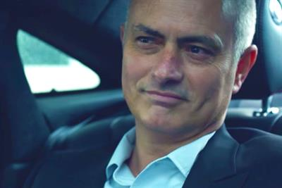 "Jaguar ""What makes José Mourinho tick?"" by CAA Sports Consulting"