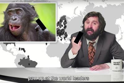 """Three UK """"Animals don't have borders"""" by Gravity Road"""