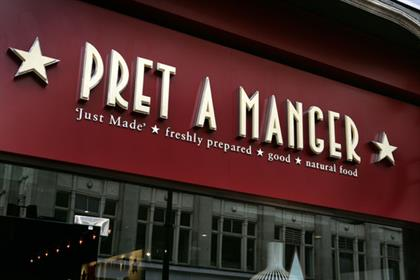 Pret A Manger: appoints Mark Palmer as marketing director.
