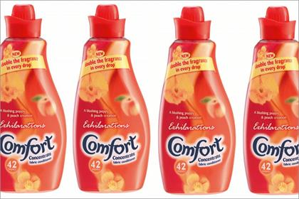 Comfort Exhilarations: Unilever backs range with 2m marketing drive