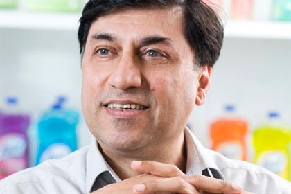 Rakesh Kapoor: chief executive of Reckitt Benckiser