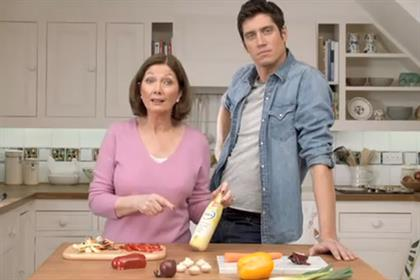 Flora: 2011 campaign starring Vernon Kay and his mother