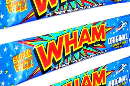 Wham: the bar is set to return to UK shops