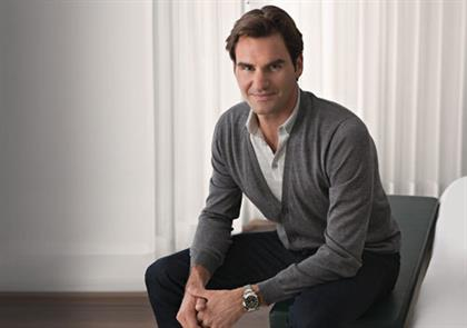 Rolex: brand ambassador Roger Federer