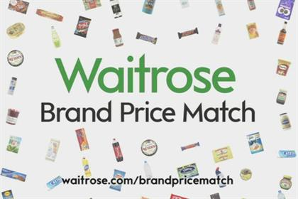 Waitrose: extends price match activity
