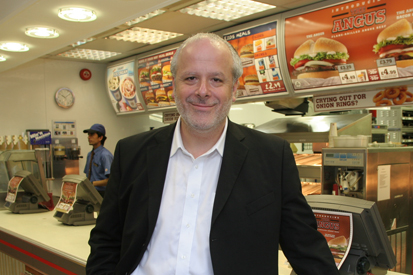 David Kisilevsky: joined Burger King in 2006