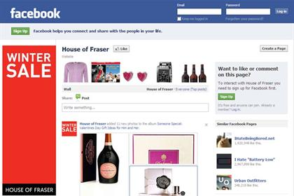 Hopuse of Fraser: targeting students via its Facebook page