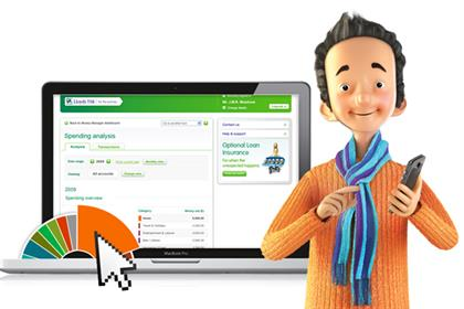 Lloyds TSB: allows users data access through Money Manager app
