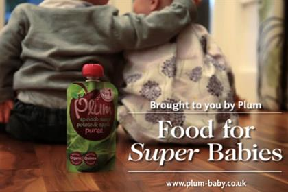 Plum: 'super food' ident