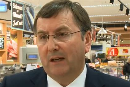 Philip Clarke: Tesco chief appears on supermarket's food news website