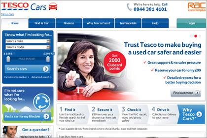 Tesco Cars: carsite.co.uk rebrands