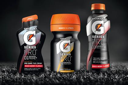 Gatorade's G Series Pro nutrition range