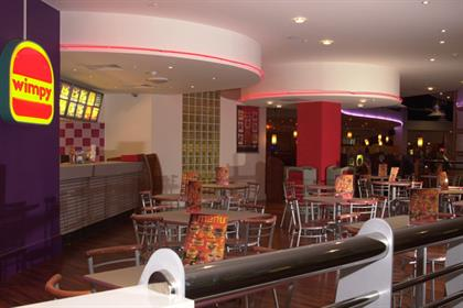 Wimpy: modernising its menu