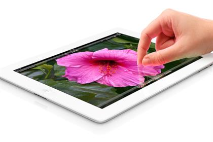 Apple: coming under pressure from challenger tablet brands