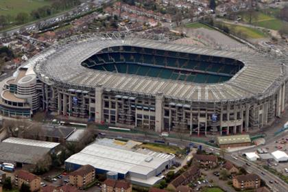 Twickenham Stadium: aims to boost interaction and engagement with spectators