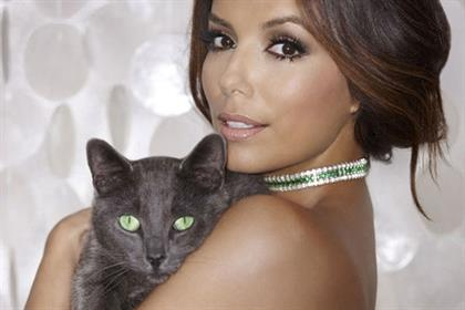 Eva Longoria: becomes the face of Sheba