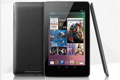 Nexus 7: Google rolls out its first own-branded tablet