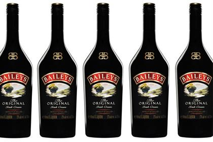 Baileys: unveils revamped bottle design